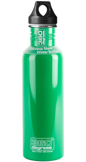 360° degrees Stainless - Gourde - 750ml vert